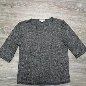 Silence + Noise Gray Top Size S